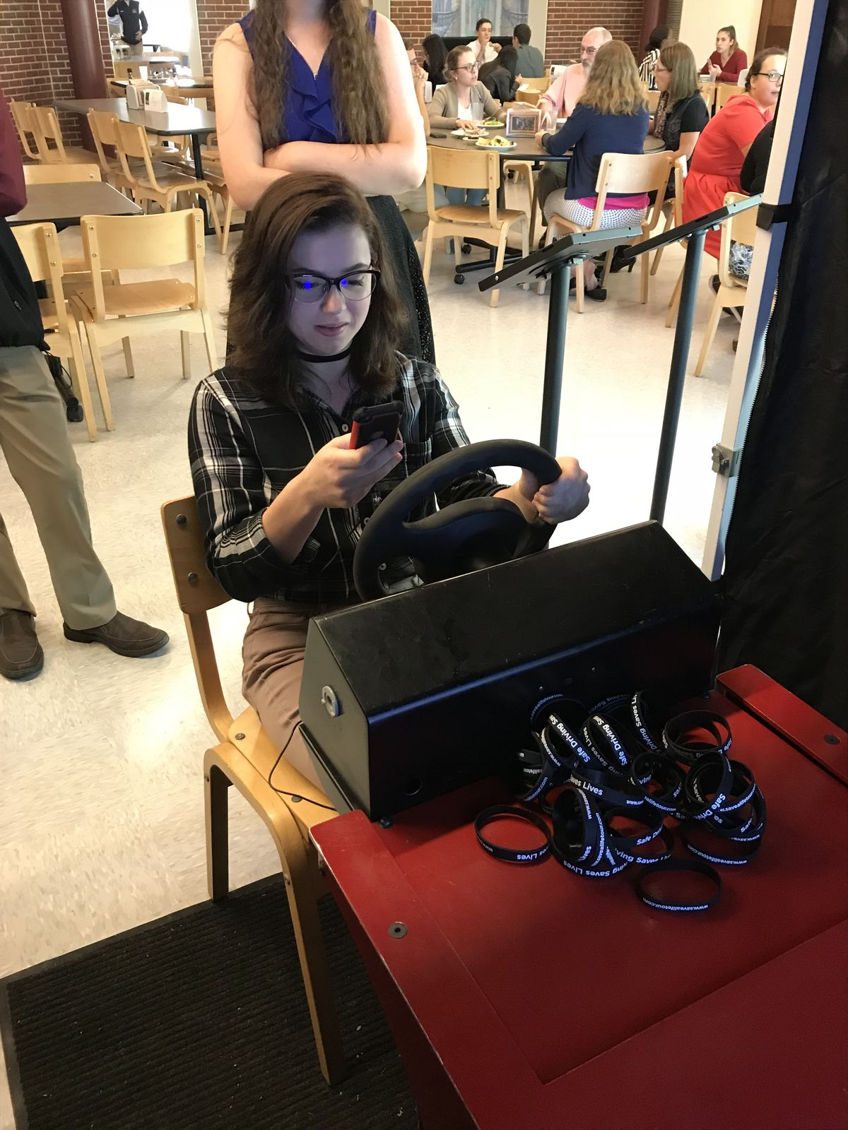 Marianapolis Students Learn Dangers of Distracted Driving