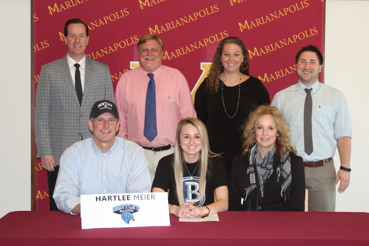 Hartlee Meier '18 Signs NLI with Bentley University