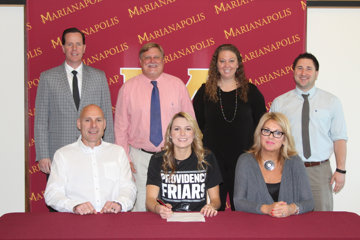 Sophia Widmeyer '18 Signs NLI with Providence College