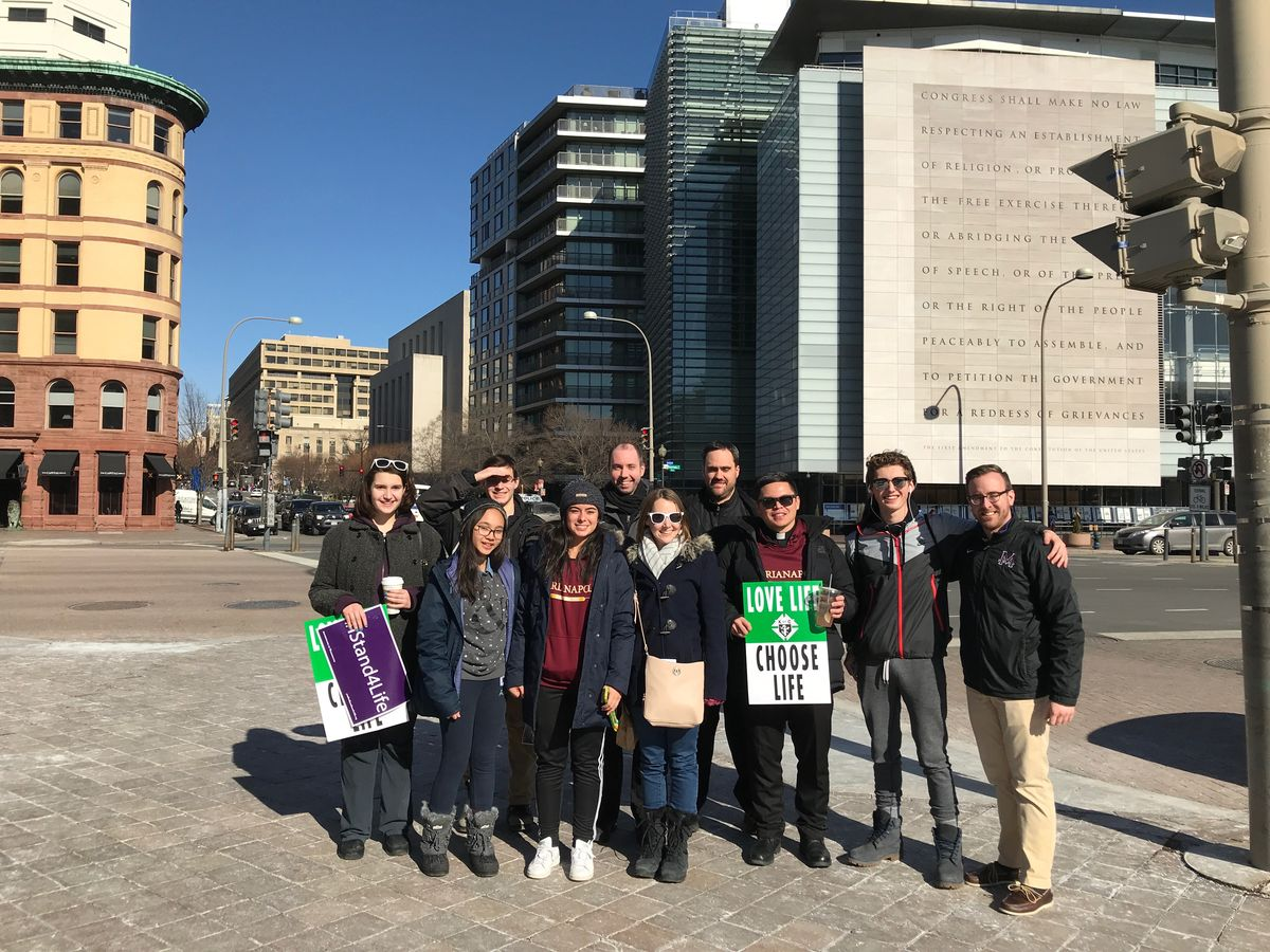 Marianapolis Participates in March for Life