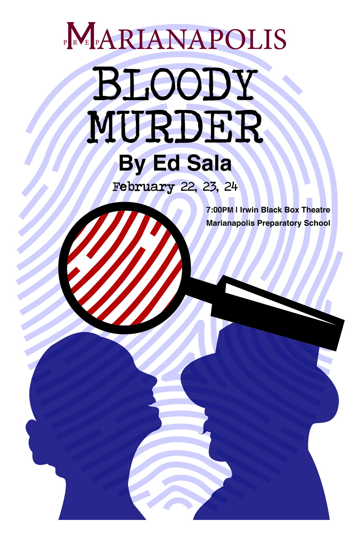 "Marianapolis Drama Department to Present ""Bloody Murder"""