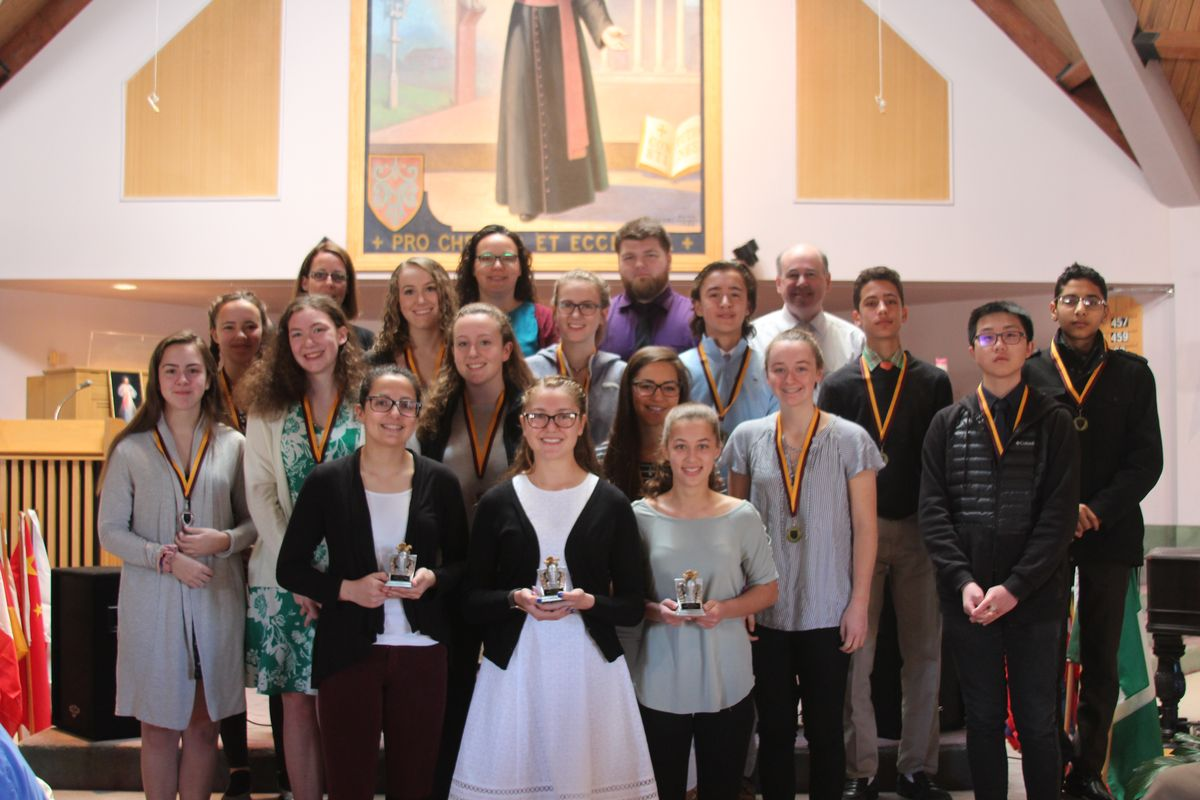 Ninth Grade Science Fair Winners Announced