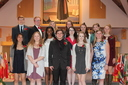 Marianapolis Prep Inducts Nine into National Chinese Honor Society