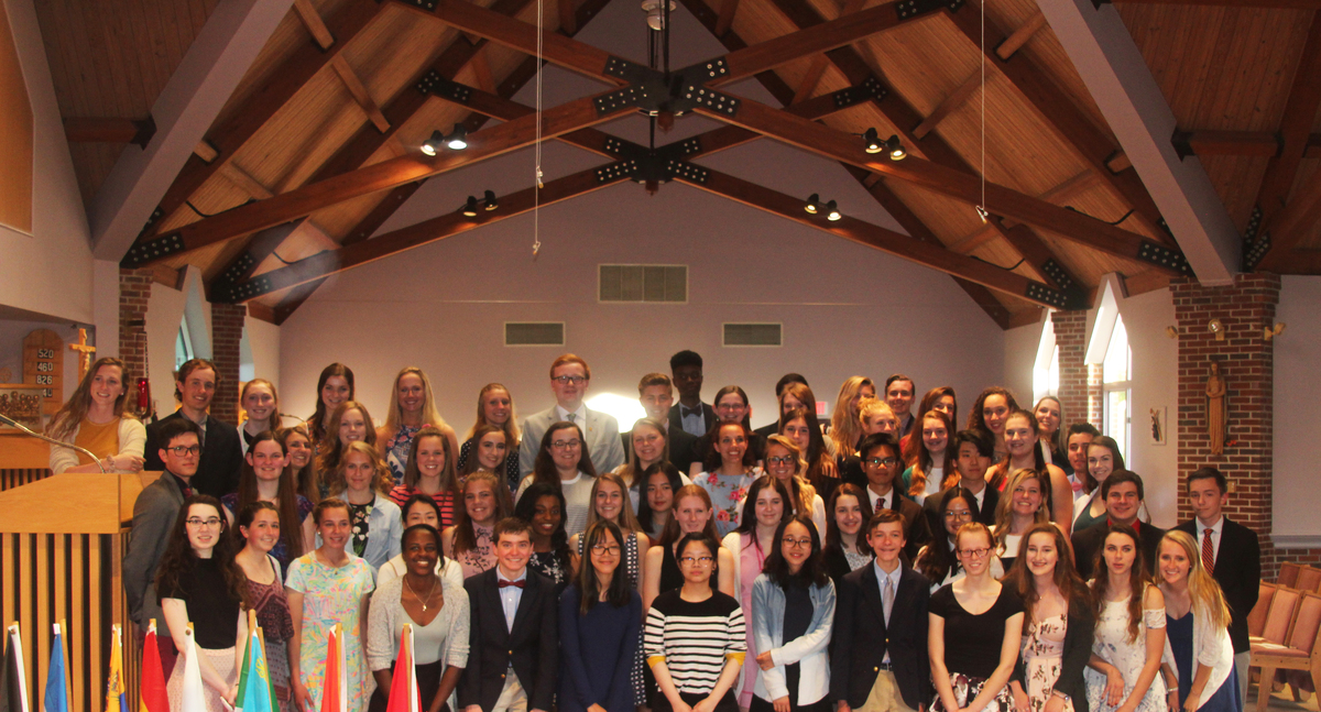 Marianapolis Inducts 41 into National Honor Society